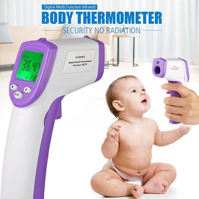 Non-Contact Body Infrared Digital Thermometer Instant LCD Display Medical Home