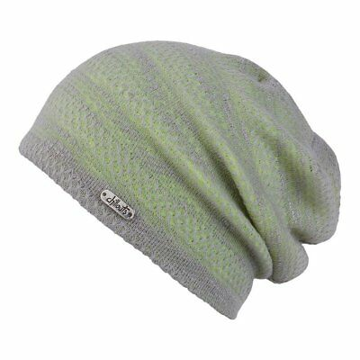 (TG. One Size) Chillouts Unisex summerbeanie Tallin Hat grey yellow (Y7y)