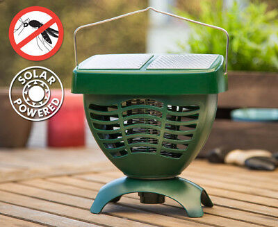 Sunforce Solar Mosquito and bugs Zapper * home, camping, travelling and garden *