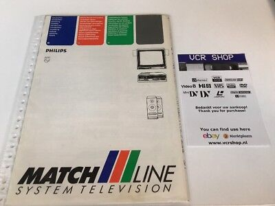 Manual: Philips Matchline System Television