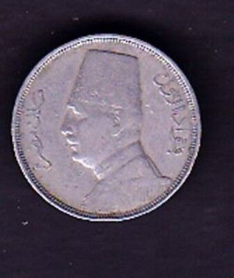 Egypt Coin 10 Millimes 1935 Year