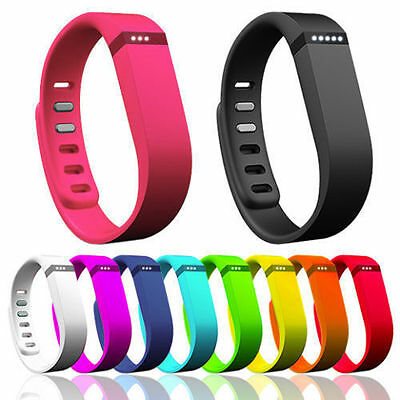 For Fitbit Flex Bracelet Replacement Wrist Band w/Clasp Large/ Small Size