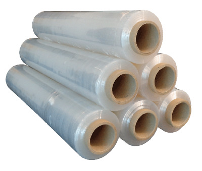 6 x Pallet Sheets Wrapping foil Stretch Wrap Strech 23 My 500mm 2,5 KG