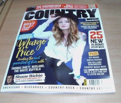 Country Music magazine #7 DEC/JAN 2018 Margo Price, Highwaymen, Dolly Parton &