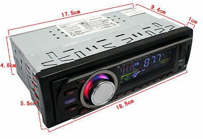 Car Vehicle Stereo Radio USB/SD/FM/AUX Radio MP3 CD DVD Player for IPOD IPHONE