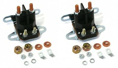 (2) RELAY SOLENOIDS for Western Fisher Meyers Snowplows  Universal 4 Post Plow