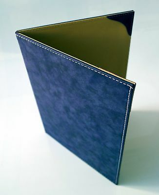 A4 Menu Covers ( 10 Pcs. ) for  Hardcover Suede Design Available in 11 colors