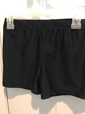 Capezio Black  Dance Booty Short  Size M