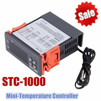 10A 110V Digital Temperature Controller Thermostat -50℃-90℃ w/Sensor New Pro BE