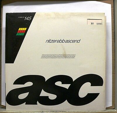 """NITZER EBB - Ascend Part 1 & 2 10"""" EP Vinyl Numbered Mute Records INDUSTRIAL"""
