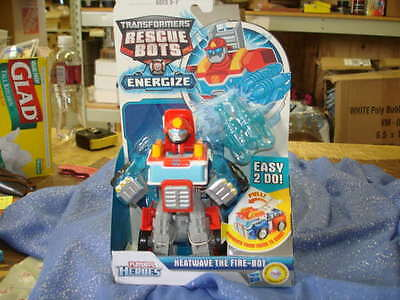 TRANSFORMERS Playskool Rescue Bots Energize Transforming HEATWAVE The Fire Bot