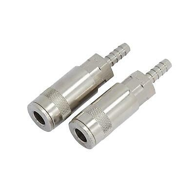 Air Line Quick Coupler 6mm 1/4 Hose End Barb Coupling Fits PCL Bayonet Connector