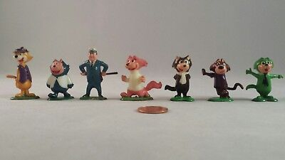 Marx Tinykins Top Cat Lot of Hanna-Barbera Figures Hand Painted - 1961