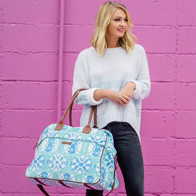 Bella Taylor Weekender Travel, Overnight and Carry On Tote Bags in 16 Patterns