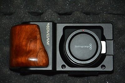 Blackmagic Pocket Cinema Camera with Movcam Rig and Cannon Lense Adapter