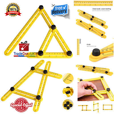 Universal Nook Scale Ruler Angleizer Tool Multi Angle Measuring Angularizer DIY