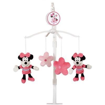 Baby Mobile Minnie Mouse Baby Mobile Disney Nursery Decor Plays Brahms' Lullaby