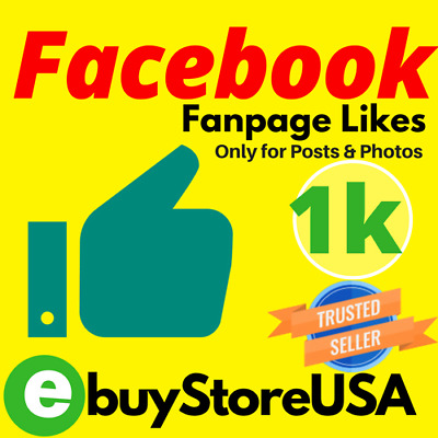 1000 Facebook/Likes for photo or post