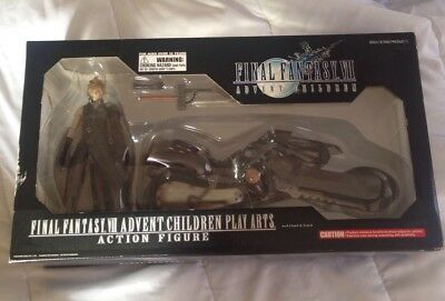 Play Arts Cloud Advent Children Motorcycle