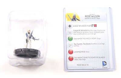 Heroclix Dc Comics Teen Titans, Rose Wilson #208, Booster Fresh in Tray