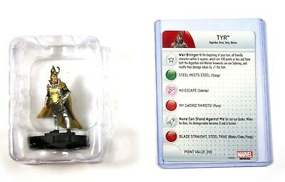 Heroclix Thor The Dark World, Tyr #006, Booster Fresh in Tray