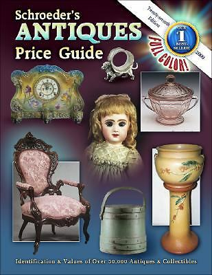 Schroeder's Antiques Price Guide-ExLibrary