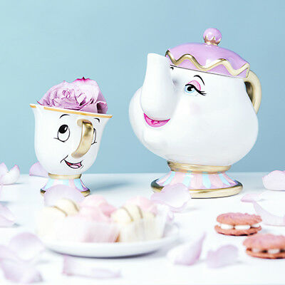 Primark Mrs Potts Tea Pot  Beauty And The Beast New Boxed Teapot BNIB OFFICIAL-