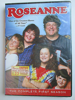 Roseanne - The Complete First Season (DVD, 2011, 3-Disc Set) Region 1--Brand New