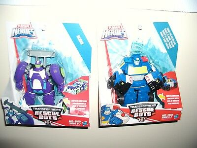 transformers rescue bots lot,BLURR,CHASE ACTION figures,easy transform NEW