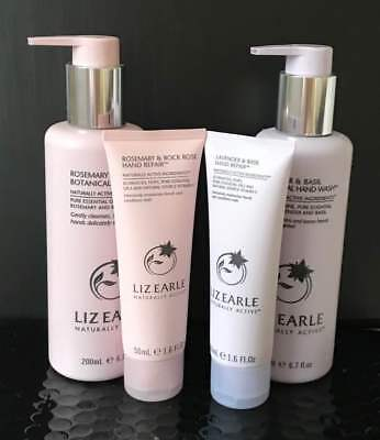 Liz Earle Hand Repair x 2 & Handwash x 2