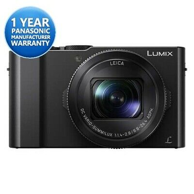 Panasonic Lumix DMC-LX10GN-K Camera (AUST STK)