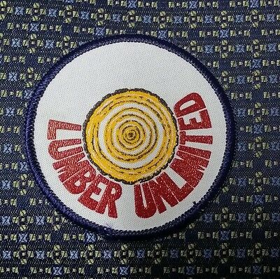 LUMBER UNLIMITED Sew-On Patch