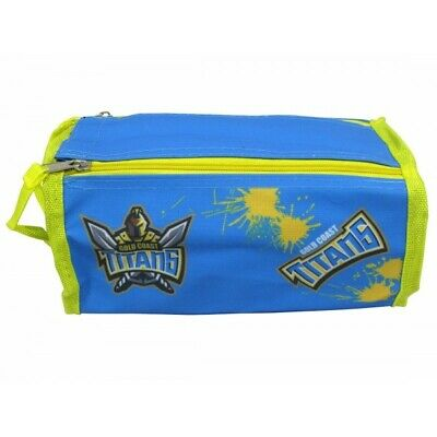 Gold Coast Titans Toiletries Bag Wetpack Official NRL FATHER'S DAY