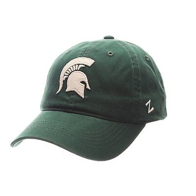 brand new 5a64f e14bf NCAA Michigan State Spartans Scholarship Relaxed Adjustable Slouch Hat   Cap