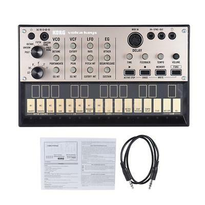 KORG VOLCA KEYS Analog Synthesizer Synth Built-in Delay Effect Sequencer C3P2