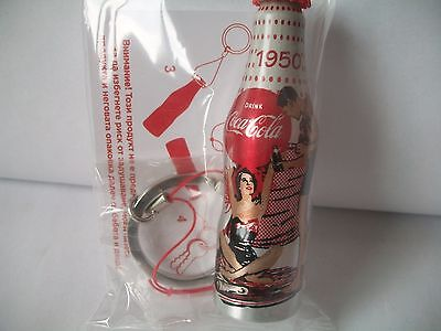 1950 100 Years Of Coca Cola Mini Aluminum Bottle