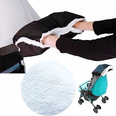 Winter gift baby pram pushchair hand warmer glove hand muff stroller waterproof