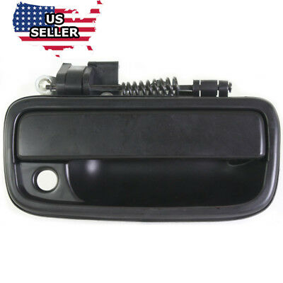 Front Right Passenger Outside Smooth Black Door Handle for 95-04 Toyota Tacoma