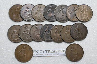 Uk Gb Penny's Collection All Different A72 Ll15