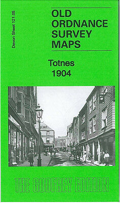 Old Ordnance Survey Map Totnes Longcause Fore Street Redworth Puddaven 1904