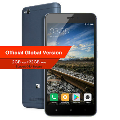 5'' XIAOMI REDMI 4A 2+32GB MIUI 8 4G LTE Smartphone 13MP 2SIM ORIGINAL GLOBAL EU