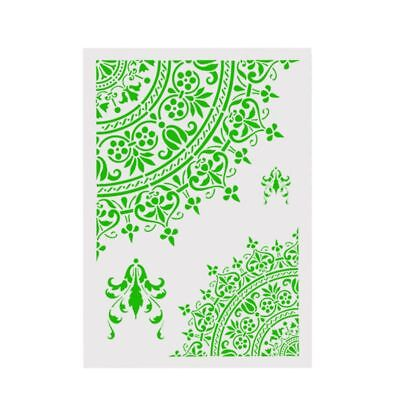 Plastic Layering Stencils DIY Scrapbooking Painting Stamping Stamps Album Decor