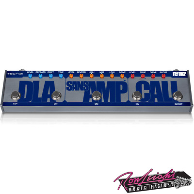 Tech 21 Fly Rig 5 Cali Series Multi Effect Pedal w/ Cali, Sans Amp and Delay