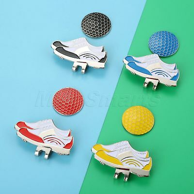 Outdoor 1X Shoes Design Magnetic Hat Clip Removable Golf Ball Marker Great Decor