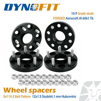 4x 20mm Hubcentric Wheel spacers 5x114.3MM 5X4.5'' 64.1MM fit Civic CR-V Accord