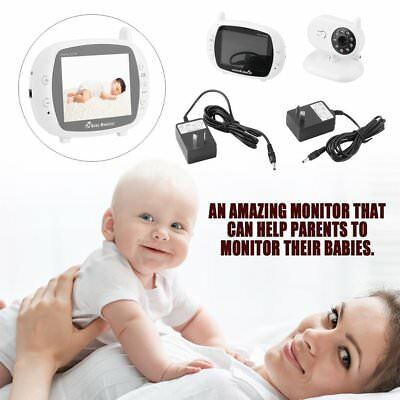 "3.5"" LCD Baby Pet Monitor Wireless Digital Audio Video Camera Security AUSTOCK"