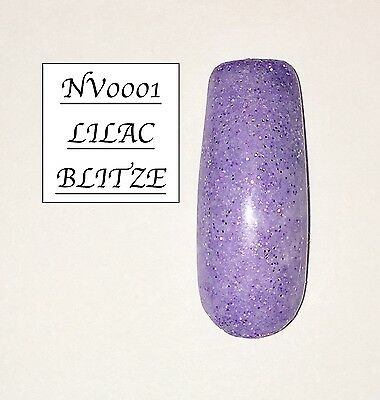Lilac Blitze Ibd Acrylic Powder 10G Bag Many More Colours See Description