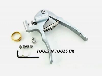 Jewellery Marking Pliers & Punch Stamps 9K 18K 24K 585 750 925 Ring Metal Holder