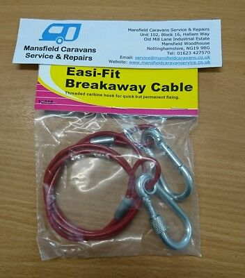 W4 Easy Quick Fit Breakaway Cable - Threaded Carbine Hook