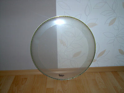 "Bass Drum  Fell 22""  clear Masters by Remo"